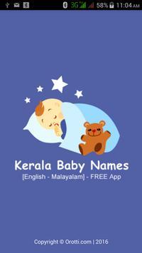 Kerala Malayalam Baby Names poster