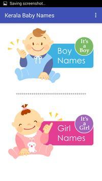Kerala Malayalam Baby Names apk screenshot