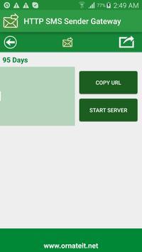 HTTP SMS Sender Gateway apk screenshot