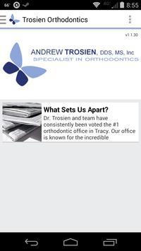 Trosien Orthodontics poster