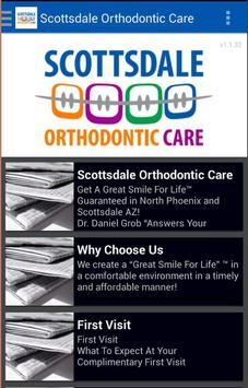 Scottsdale Orthodontic Care poster