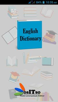 Offline English Dictionary poster