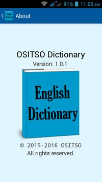 Offline English Dictionary apk screenshot