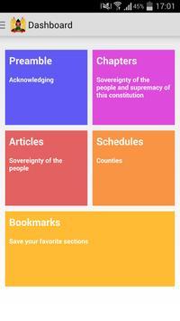 Kenyan Constitution poster