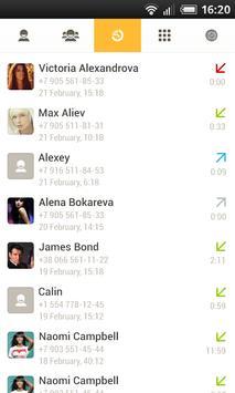 Contacts, calls, addresses apk screenshot