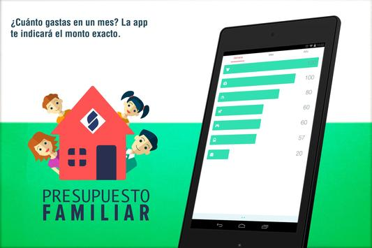 SBS Presupuesto Familiar apk screenshot