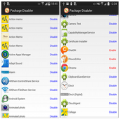 Package Disabler free Samsung icon