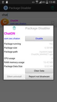 Package Disabler free Samsung poster