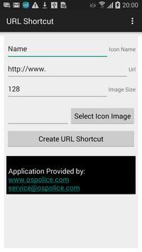 URL shortcut creator poster