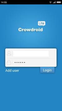 Crowdroid Lite poster