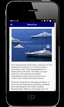 The Vanderhurst Yacht Club apk screenshot