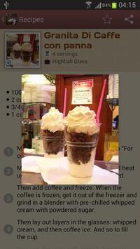 Coffeemania — coffee recipes apk screenshot