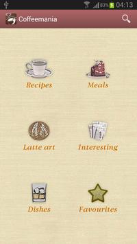 Coffeemania — coffee recipes poster