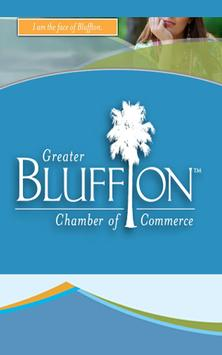 Bluffton Chamber of Commerce poster