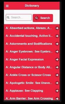 BodyLanguage Visual Dictionary poster
