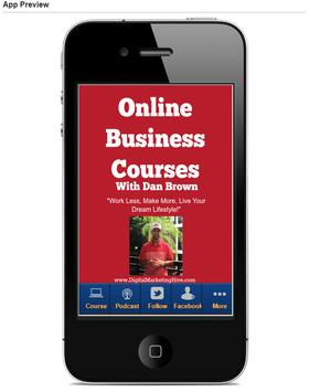 Online Marketing Courses FREE apk screenshot