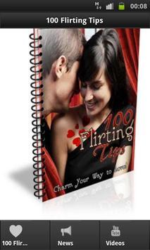 100 Flirting Tips poster