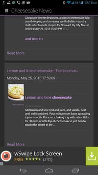 Cheesecake Recipes Bible apk screenshot