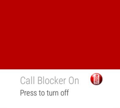 Call Blocker No Spam Voicemail apk screenshot