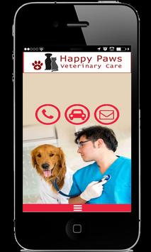 Happy Paws Veterinary Care poster