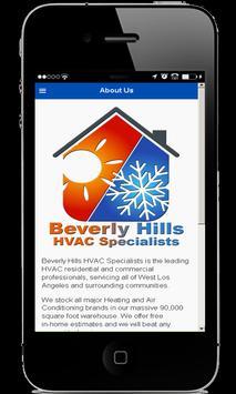 Beverly Hills HVAC Specialists apk screenshot