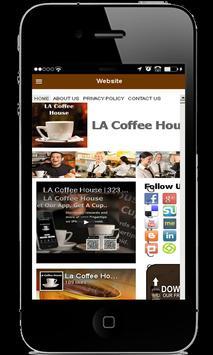 LA Coffee House apk screenshot