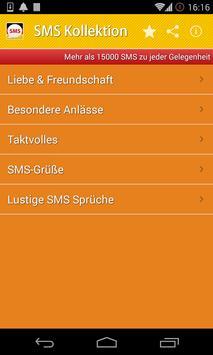 SMS Nachrichten poster