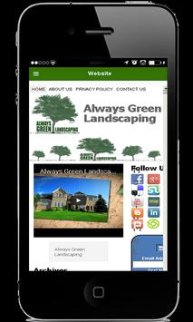 Always Green Landscaping apk screenshot