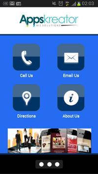 Appskreator Biz Solutions poster