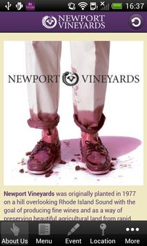 Newport Vineyards-Winery Tours apk screenshot