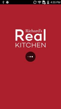 Richards Real Kitchen poster