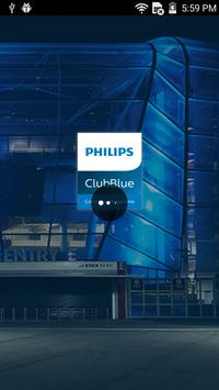 Philips ClubBlue poster