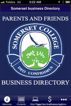 Somerset Business Directory poster