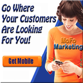Get More Customers With Mobile icon