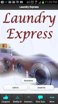 Laundry Express poster