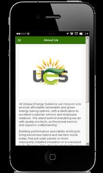 Unique Energy Solutions apk screenshot