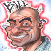 BILL'S CARICATURES icon