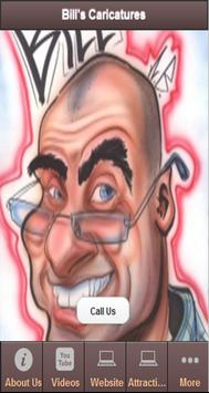 BILL'S CARICATURES poster