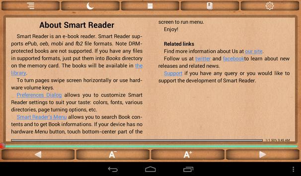 Smart Reader apk screenshot