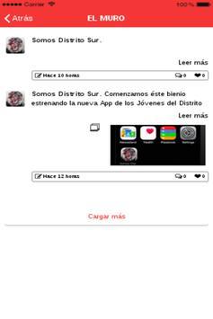 Somos Distrito Sur apk screenshot