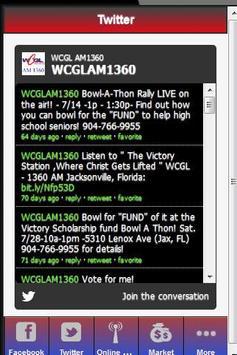 WCGL AM 1360 RADIO STATION apk screenshot