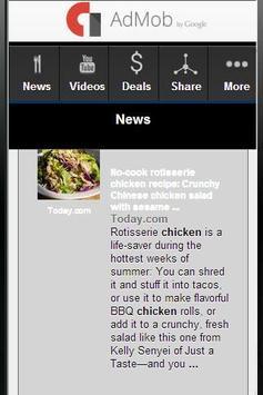 Chicken Recepies apk screenshot
