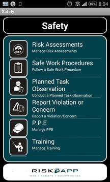Ready-Mix HSE Compliance apk screenshot