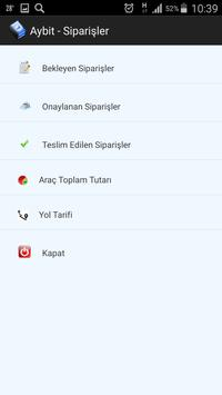 Aybit - Tüp Su Siparişler apk screenshot
