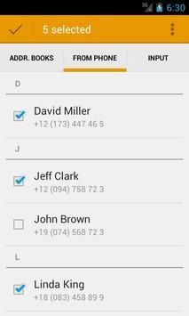 AtomPark SMS apk screenshot