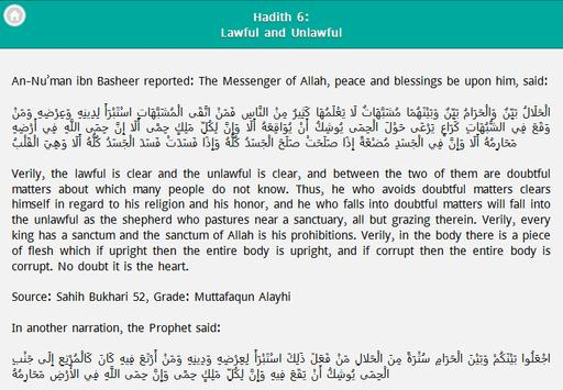 Hadith Collection apk screenshot