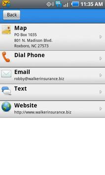 Walker Insurance Agency poster