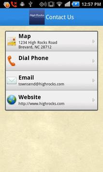 Camp High Rocks apk screenshot