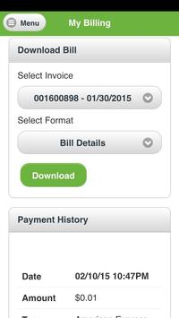 MyAccount Choice NTUA Wireless apk screenshot