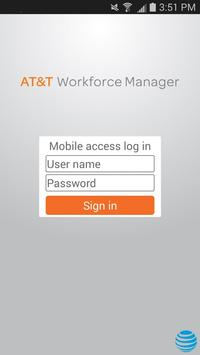 Workforce Manager for AT&T poster